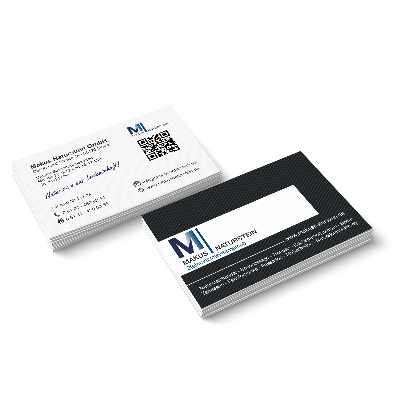 Visitenkarte Makus Naturstein GmbH