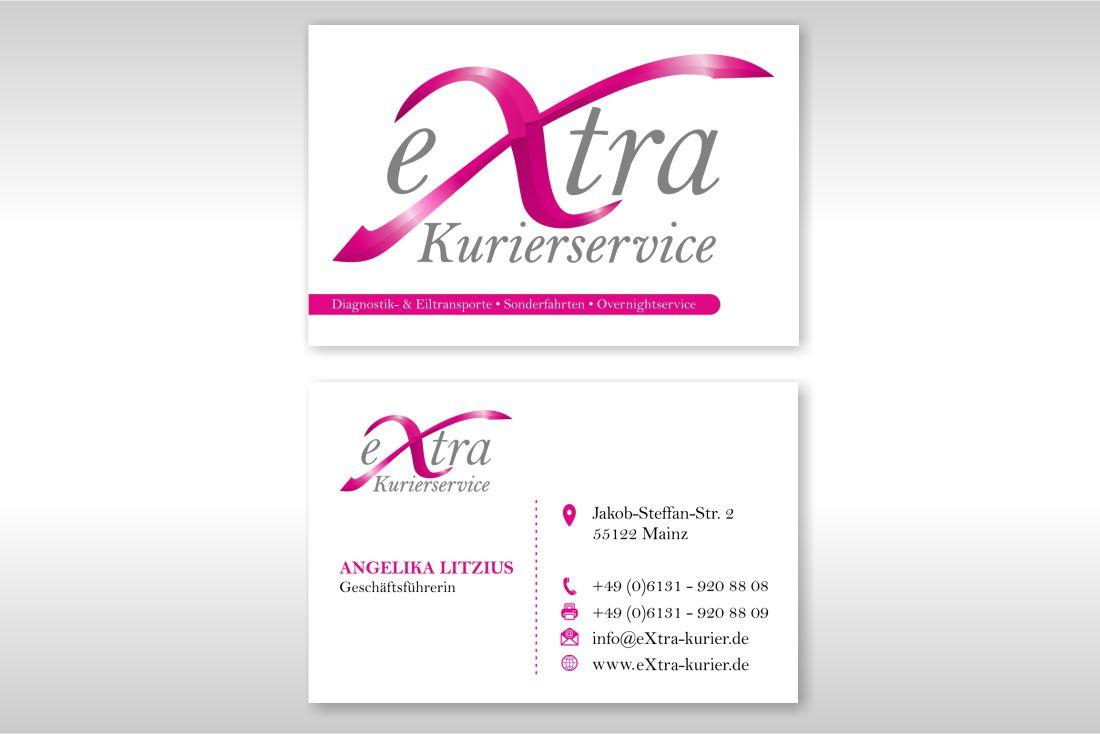 Visitenkarte eXtra