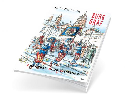 Broschüren Carneval Club Weisenau 1948 e.V. – Burggrafengarde –