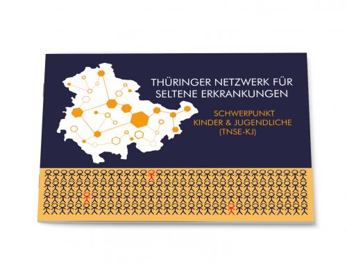 Broschüre Thüringer Netzwerk für Seltene Erkrankungen